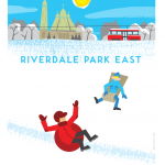 'Riverdale Park East', Spacing magazine's Transit Poster contest finalist, Spring 2014 issue.