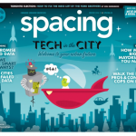 Spacing magazine cover, Winter 2014-15.